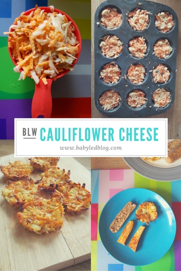 Cauliflower cheese grills